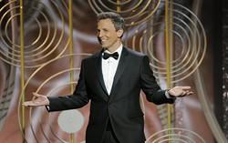 Ведущий церемонии Сет Майерс. Фото с сайта imdb.com