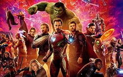Постер фильма «Мстители: Война Бесконечности»