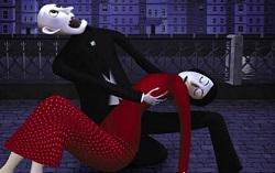 Кадр из мультфильма «Носферату. Ужас ночи»