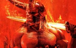 Постер фильма «Хеллбой. Взрождение кровавой королевы»