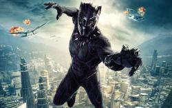 Кадр из фильма Черная пантера
