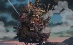Кадр из мультфильма «Ходячий замок»
