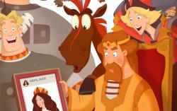 Постер фильма «Три богатыря и Наследница престола»