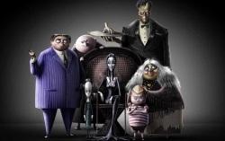Постер мультсериала «Семейка Аддамс»