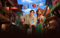Кадр из мультфильма «Украденная принцесса»
