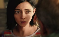Кадр из фильма «Алита»