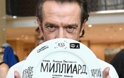 На съемках фильма «Миллиард». Фото с сайта kinopoisk.ru