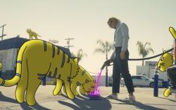 Кадр из клипа LSD — «Audio»