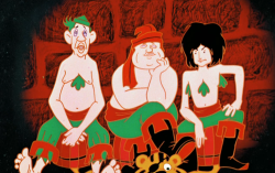 Кадр из мультфильма «Бременские музыканты»