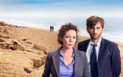 Постер к сериалу «Убийство на пляже»