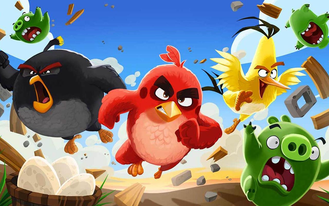 Топ10: Лучшие игры серии Angry Birds