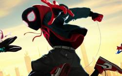 Кадр из фильма Человек-паук: Через Вселенные