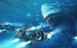 Кадр из фильма «Мег: Монстр из глубины»