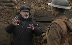 Сэм Мендес на съемках фильма «1917». Фото с сайта kinopoisk.ru