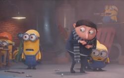 Кадр из мультфильма «Миньоны 2: Грювитация»