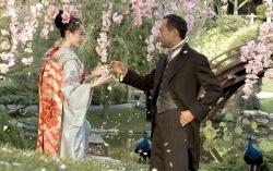 Кадр из фильма Мемуары гейши