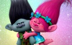 Постер мультфильма «Тролли»