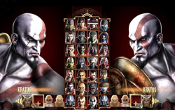 Кратос в Mortal Kombat 9