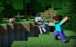 Кадр из Minecraft-сериала Alex and Steve Life