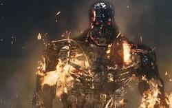 Кадр из фильма «Терминатор: Да придет спаситель»