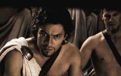 Кадр из фильма «300 спартанцев»