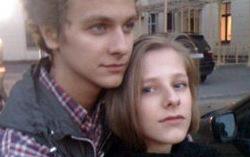 Лиза Арзамасова с женихом. Фото с сайта eg.ru