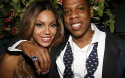 Beyonce и Jay-Z. Фото с сайта club.passion.ru