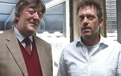 Стивен Фрай и Хью Лори. Фото с сайта kinoportal.net