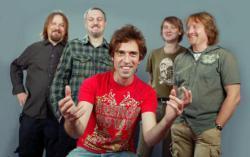 Группа «Ногу свело». Фото с сайта nashe.ru