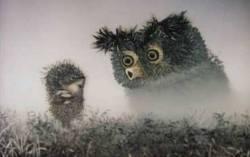 Кадр из фильма «Ежик в тумане»