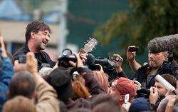 Юрий Шевчук на митинге. Фото с сайта navalny.livejournal.com