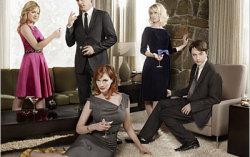 Актеры сериала «Безумцы». Фото с сайта iamatvjunkie.typepad.com