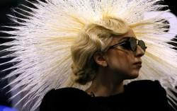 Lady Gaga. Фото с сайта popcornnews.ru