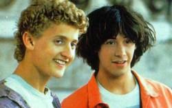 Кадр из фильма «Невероятные приключения Билла и Теда»