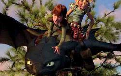 Кадр из фильма «Как приручить дракона»
