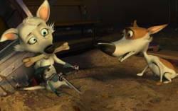 Кадр из фильма «Звездные собаки: Белка и Стрелка»