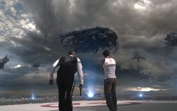 Кадр из фильма «Скайлайн»