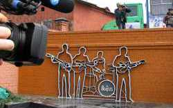 Памятник группе «Битлз». Фото с сайта adme.ru