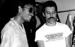 Меркьюри и Джексон. Фото с сайта queenbrazil.com
