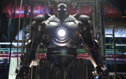 Кадр из фильма «Железный человек»