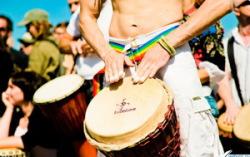 Фестиваль «Барабаны за мир» (30.06.2009). Фото — Иван Клейменов