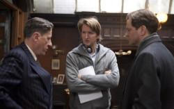 Хупер с актерами на съемочной площадке фильма «Король говорит!». Фото с сайта timeout.com