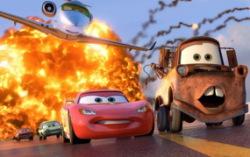 Кадр из мультфильма «Тачки 2»