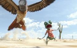 Кадр из фильма «Ранго»