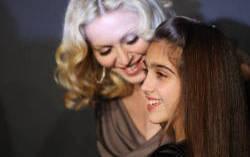 Мадонна с дочерью. Фото с сайта workingmoms.about.com
