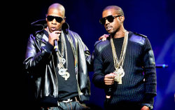 Kanye West и Jay-Z. Фото с сайта pomusic.ru