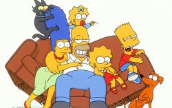 Симпсоны. Изображение с сайта myspace.com