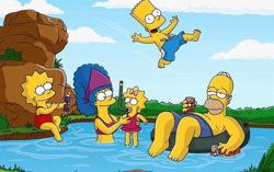 «Симпсоны», кадр из мультфильма