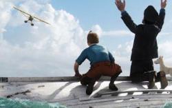 КАдр из фильма «Приключения Тинтина: Тайна Единорога»