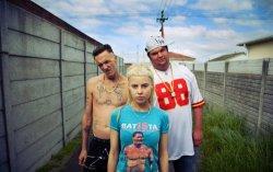 Die Antwoord. Фото с сайта katiebagley.tumblr.com
